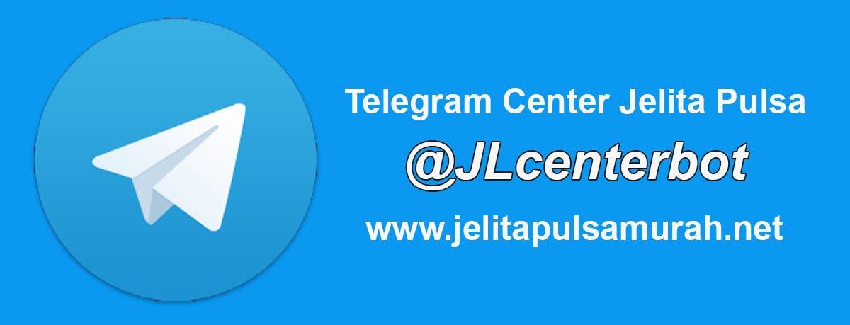 Transaksi Isi Pulsa Via Telegram Di Jelita Pulsa